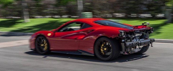 Novitec Ferrari 488 with No-Valve Exhaust Sounds Like a Racecar, Looks Like One