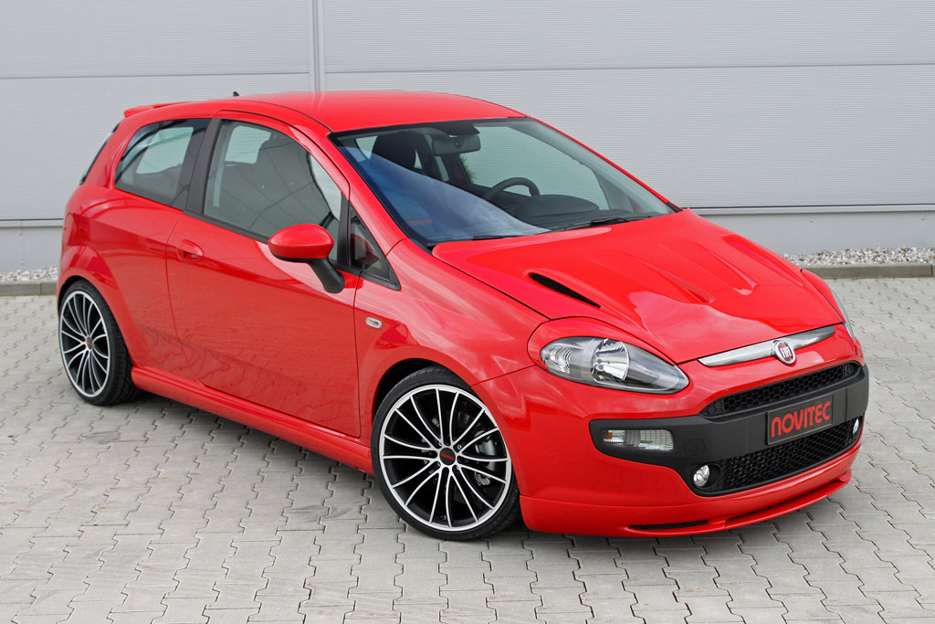 Novitec Releases Complex Tuning Program For The Fiat Punto