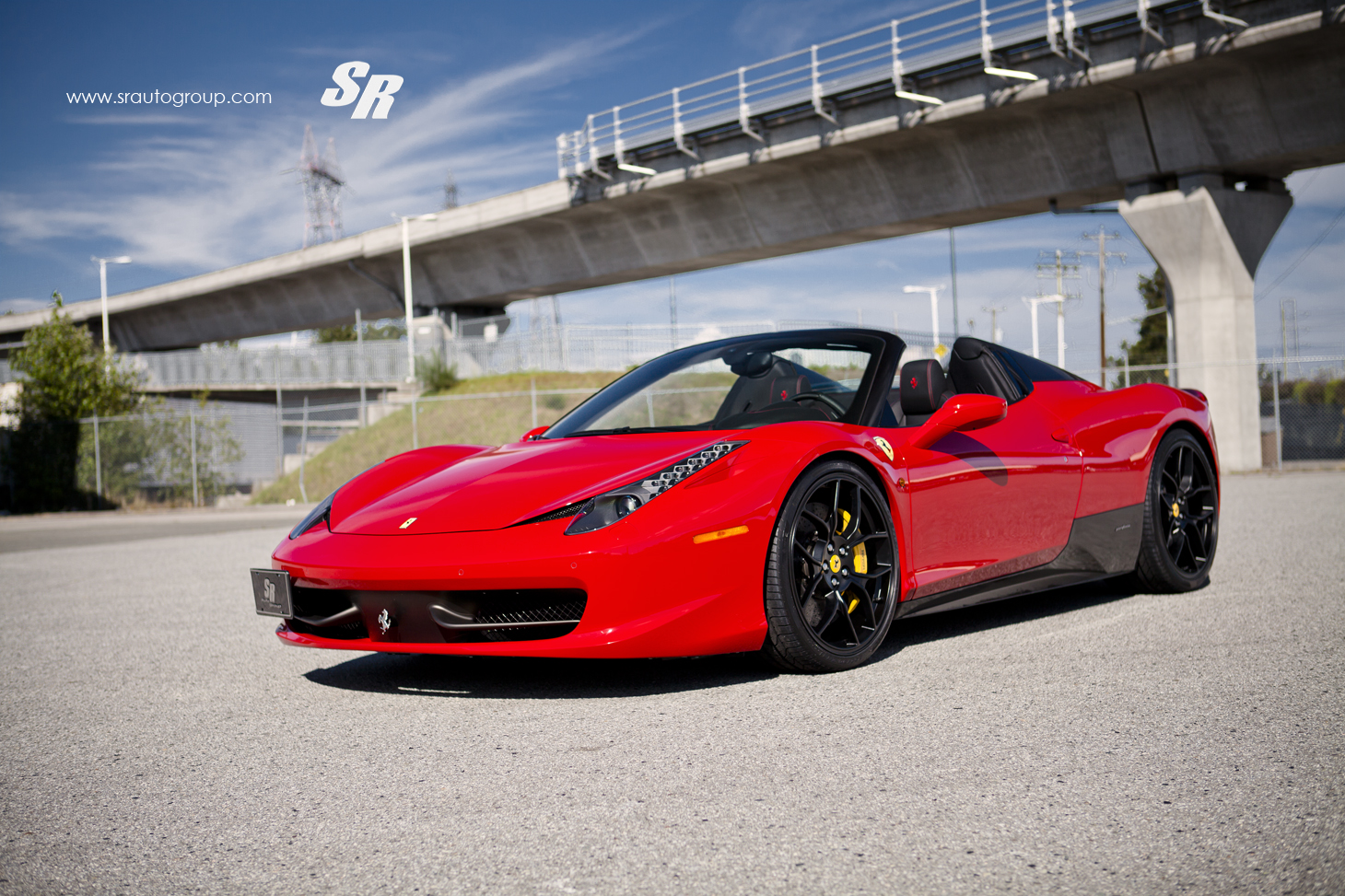 Novitec Rosso Ferrari 458 Spider Released By Sr Auto