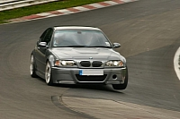 BMW M3 CSL entering the Karussell