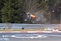Nurburgring: Wild SUV Crash [Video]