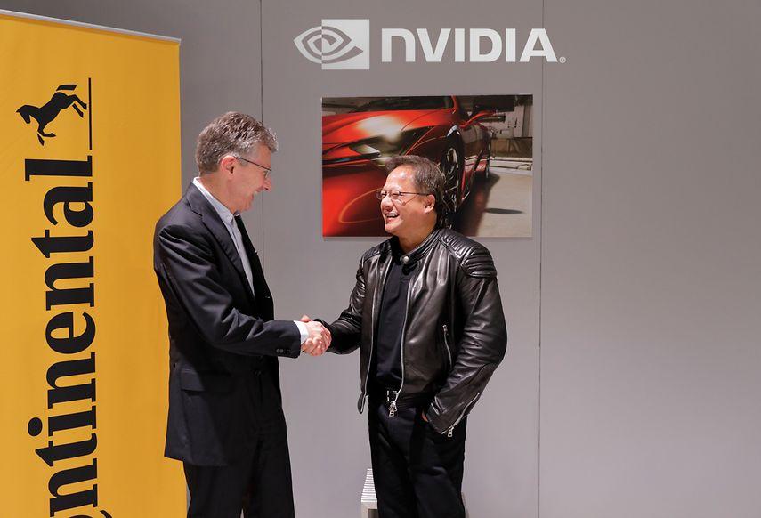 Continental taps Nvidia for its full-scale autonomous vehicle platform