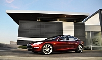Tesla Model S - deliveries begin in 2012