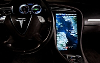 Tegra-powered infotainment system in the Model S