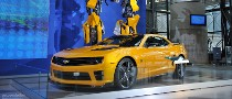 NYIAS 2011: Camaro Bumblebee As Seen in Transformers 3 [Live Photos]