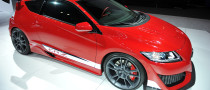 NYIAS 2011: Honda CR-Z Hybrid R Concept [Live Photos]