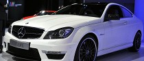 NYIAS 2011: Mercedes C63 AMG Coupe [Live Photos]