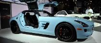 NYIAS 2011: Mercedes SLS AMG Gulf Livery [Live Photos]