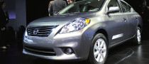 NYIAS 2011: Nissan Versa Sedan [Live Photos]