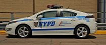 NYPD Adds 50 Chevrolet Volt to EV Fleet