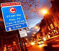 Motorcade or no motorcade, the congestion charge is a charge. Or is it a tax?