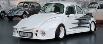 Oettinger 1973 VW Beetle Is the Widest in Europe
