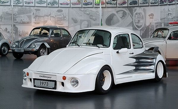 Oettinger 1973 Vw Beetle Is The Widest In Europe Autoevolution