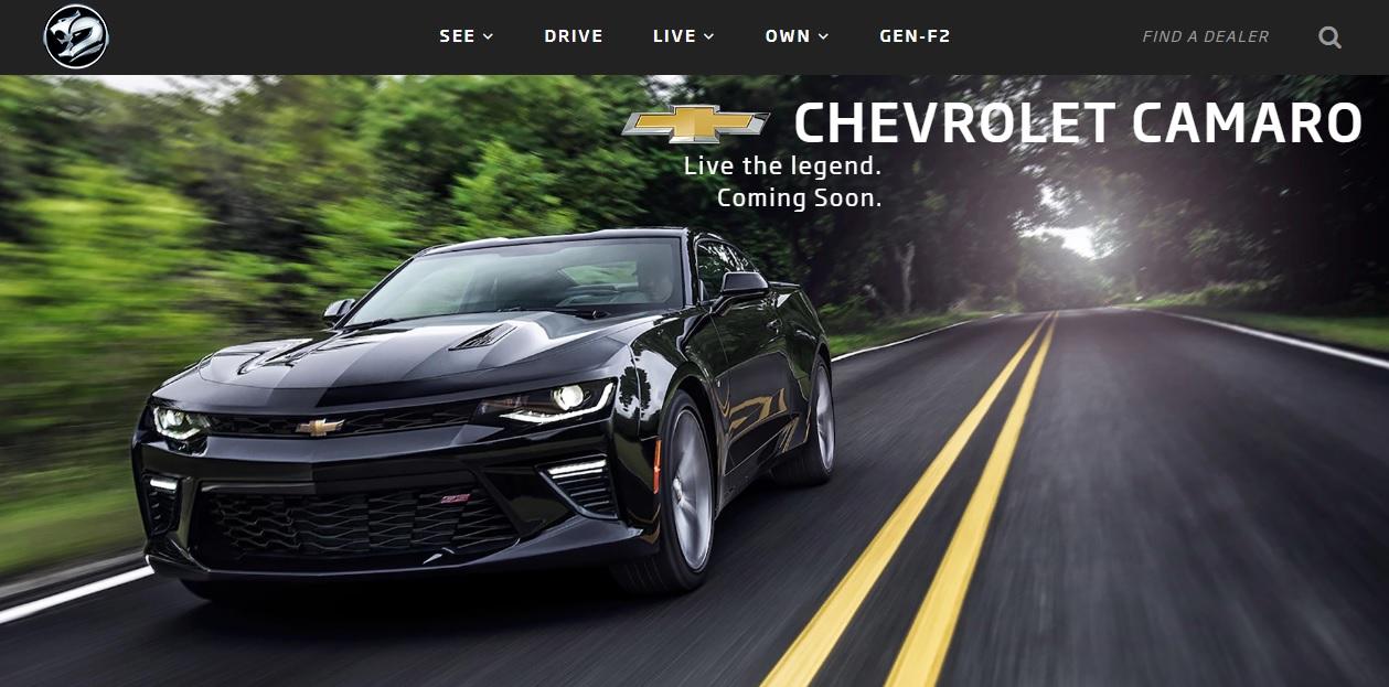 02a1e37b15 Official  Chevrolet Camaro Coming to Australia Mid-2018 - autoevolution