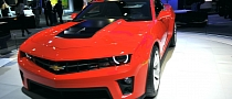 Official: Chevrolet Camaro ZL1 Will Have 580 HP