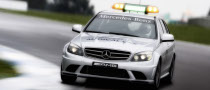 Official F1 Safety Cars: Mercedes SL 63 AMG and C 63 AMG Estate