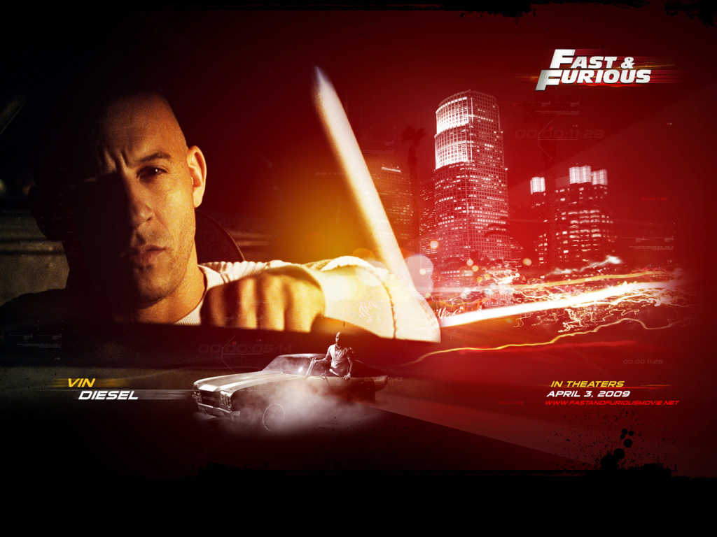 official fast and furious 4 trailer is here autoevolution. Black Bedroom Furniture Sets. Home Design Ideas