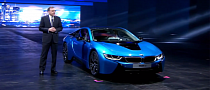 Official Presentation of the BMW i8 at Frankfurt 2013 [Video]