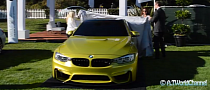 Official Unveil of the M4 Coupe at the Quail [Video]