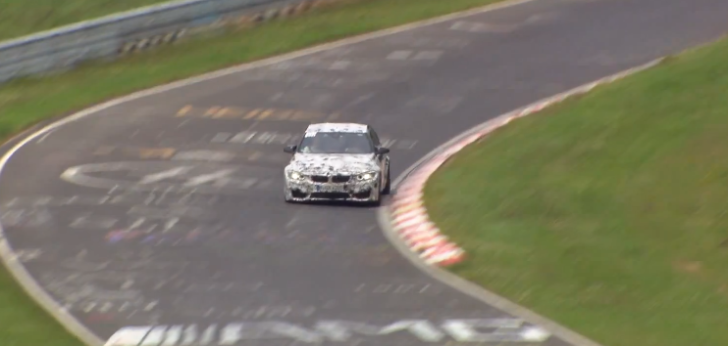 Official Video of the 2014 BMW M3/M4 on the Nurburgring [Video]