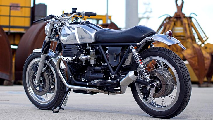 Officine Rossopuro Creates the Metallica Moto Guzzi [Photo Gallery]