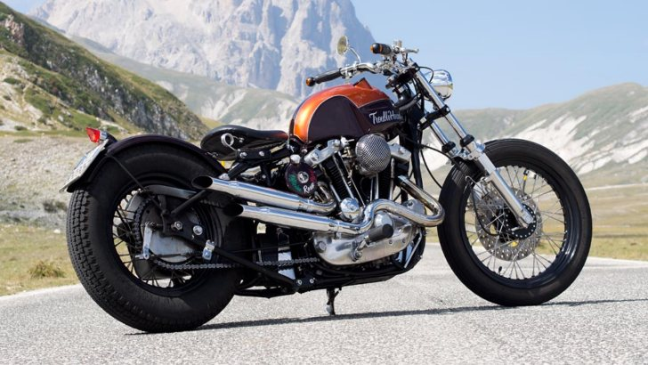 Officine Rossopuro Trouble Head Is Pure Panhead Heaven [Photo Gallery]