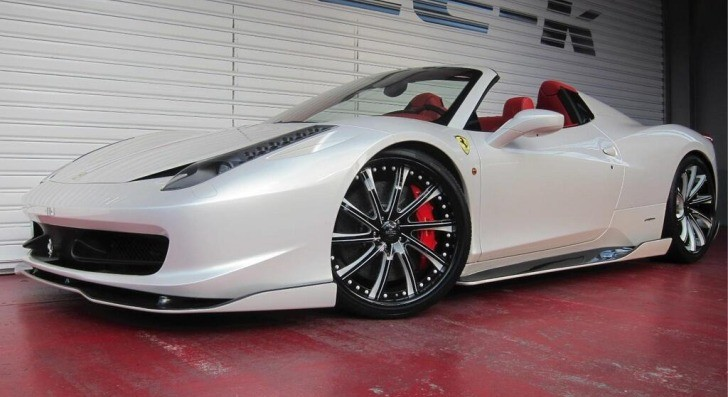 Ofice-K Ferrari 458 Spider [Photo Gallery]