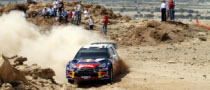 Ogier Holds Half Minute Lead in Rally Jordan