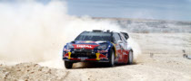 Ogier Leads Rally Jordan on Friday