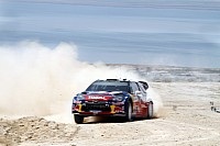 Ogier rules the action in Rally Jordan