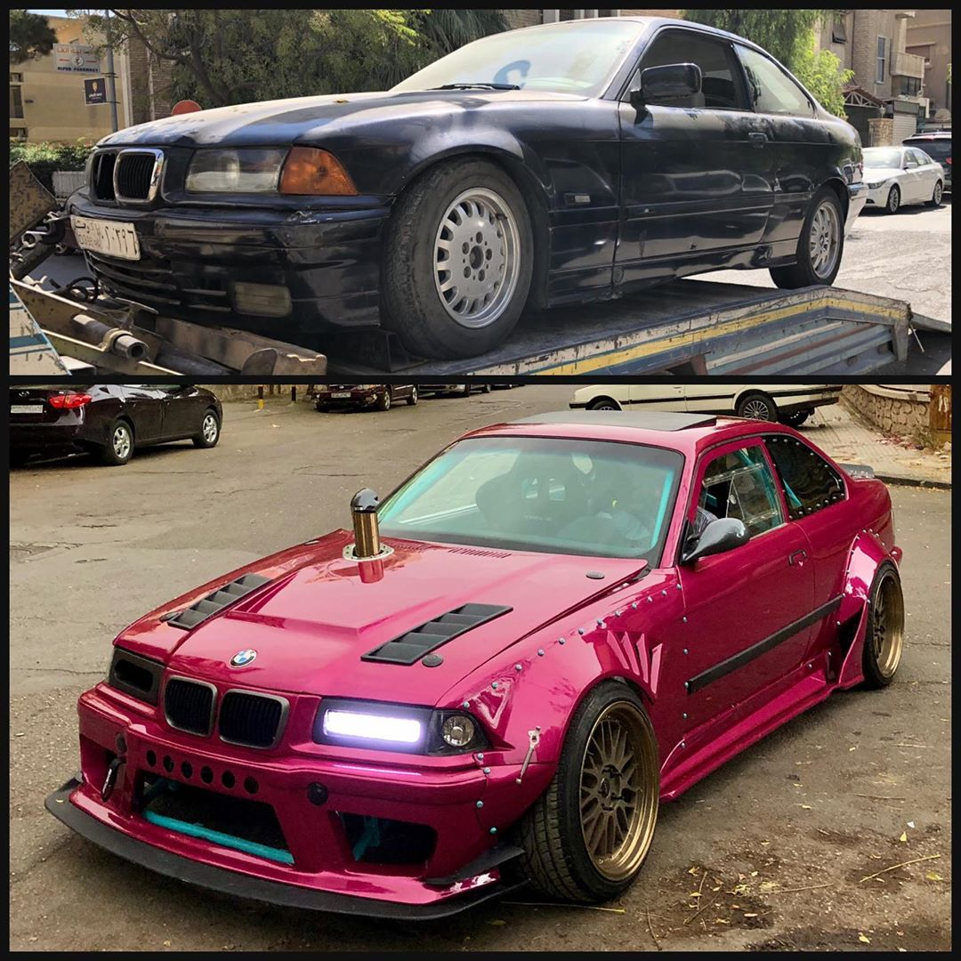 Bmw X5: Old E36 BMW 3 Series Gets Amazing Cyberpunk Makeover