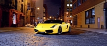 Old Lamborghini Gallardo Spyder Looks Fresh on D2Forged Wheels [Photo Gallery]