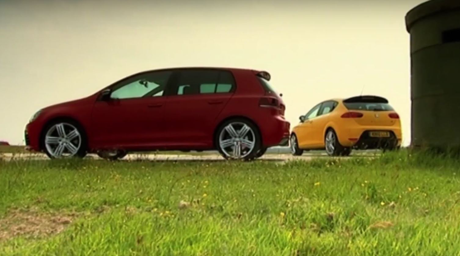 Old Leon Cupra R And Golf 6 Put To The Test By Tiff Needell