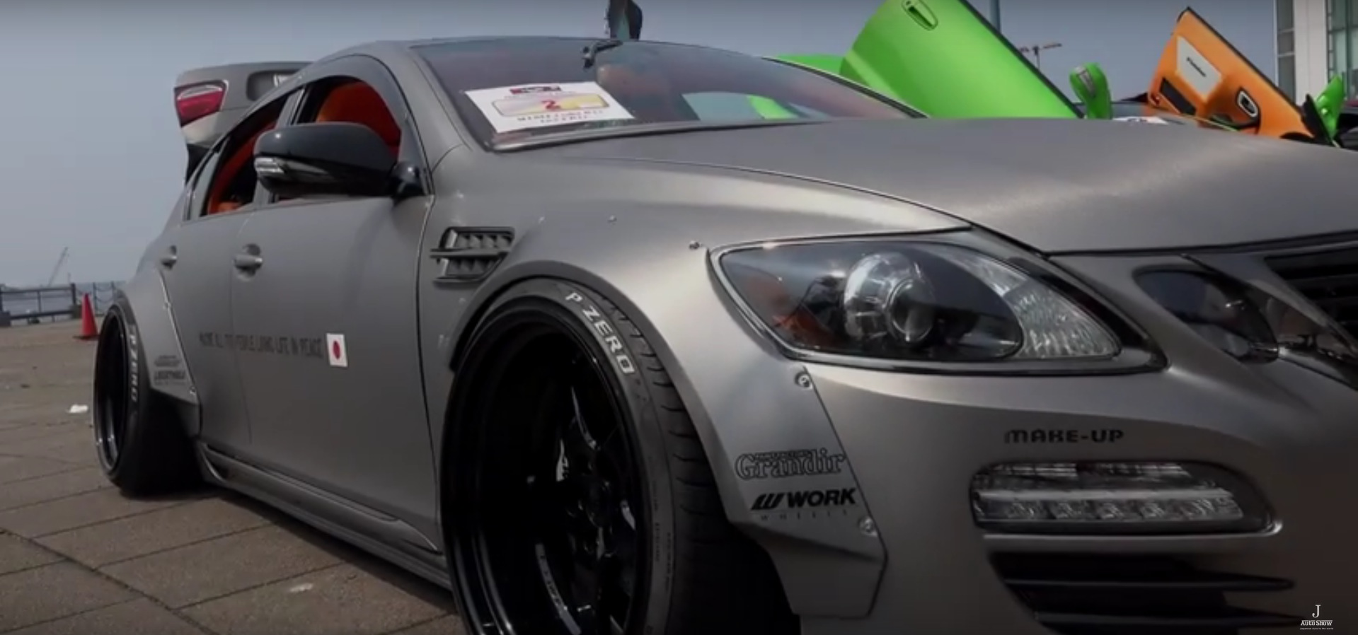 Old Lexus GS450h with Liberty Walk Widebody Kit Could Be