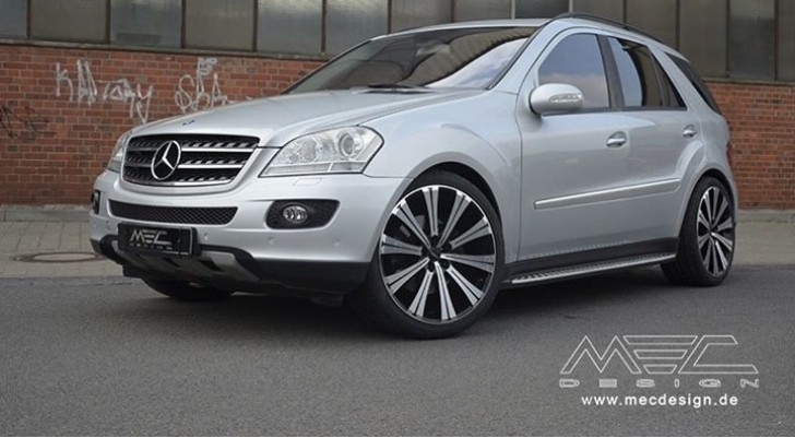 Old Mercedes ML500 Targeted by MEC Design [Photo Gallery]