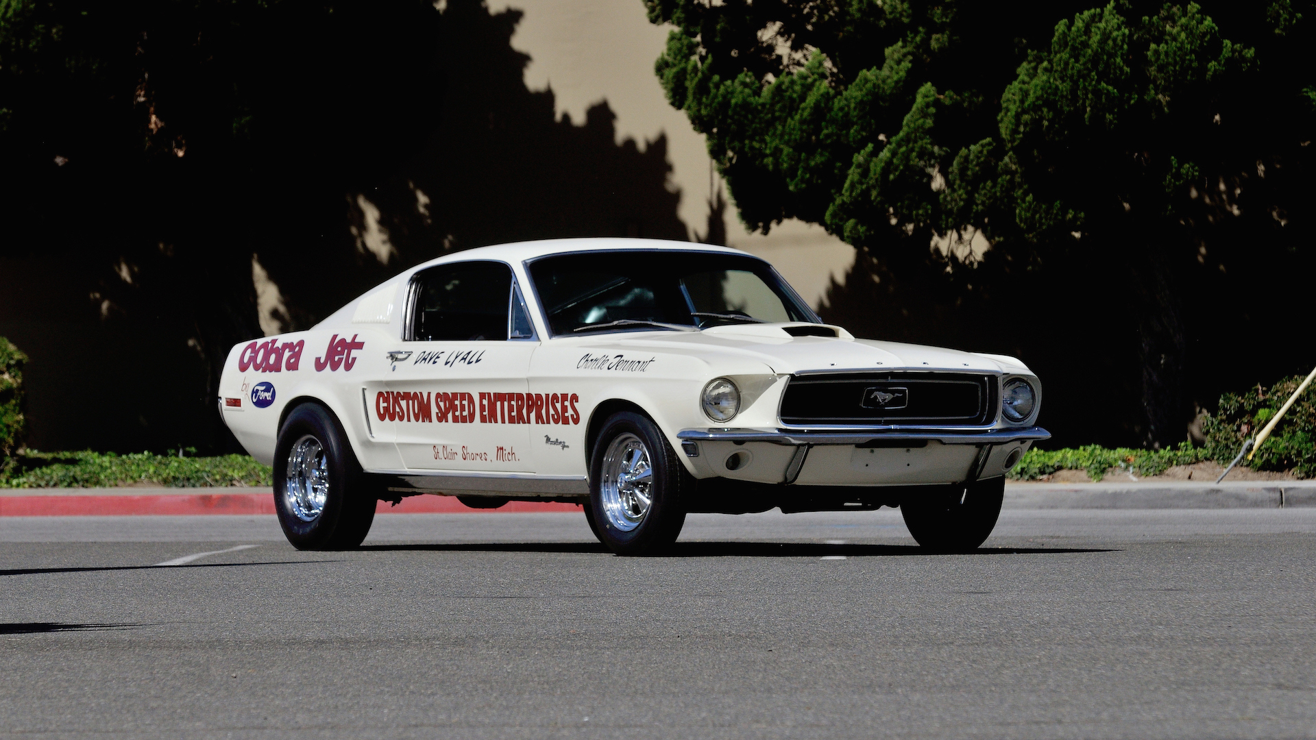 Old-School Ford Mustang Cobra Jet Lightweight Heading to Auction ...