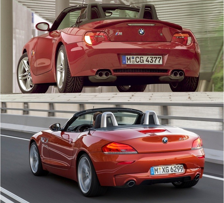 Bmw Z4 E85: Old Versus New Exhaust Battle: BMW E85 Z4 M Vs BMW E89