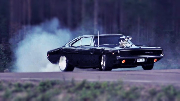 Oldschool Blown Dodge Charger Shows How Diluted Is The