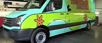 "One Direction VW Crafter Van Gets the ""Mystery Machine"" Wrap [Video]"