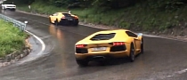 One Hairpin, Over 100 Lamborghinis [Video]