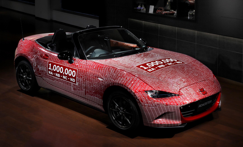 e Millionth Mazda MX 5 Heads Back Home Bearing The Signatures