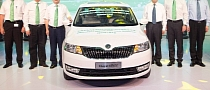 One Millionth Skoda Made in China