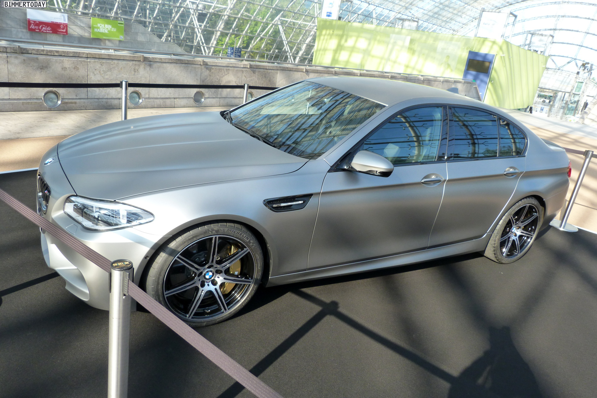 One Of Only BMW Jahre Edition Ms Shows Up At The Leipzig - Bmw car show