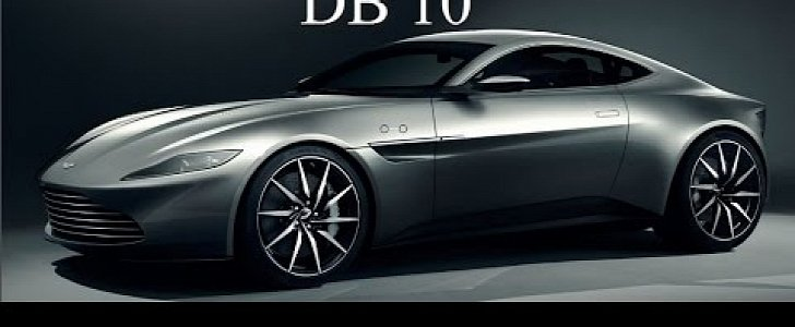 one of the 10 ever made aston martin db10s featured in spectre will go to auction autoevolution. Black Bedroom Furniture Sets. Home Design Ideas