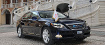 One Off Lexus LS 600h L for Prince Albert II of Monaco's Wedding