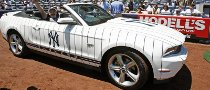 One-Off New York Yankees Mustang GT Up for Auction
