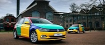 One-Off VW Polo Harlekin Arrives From The Netherlands to Signal It's 1995 Again