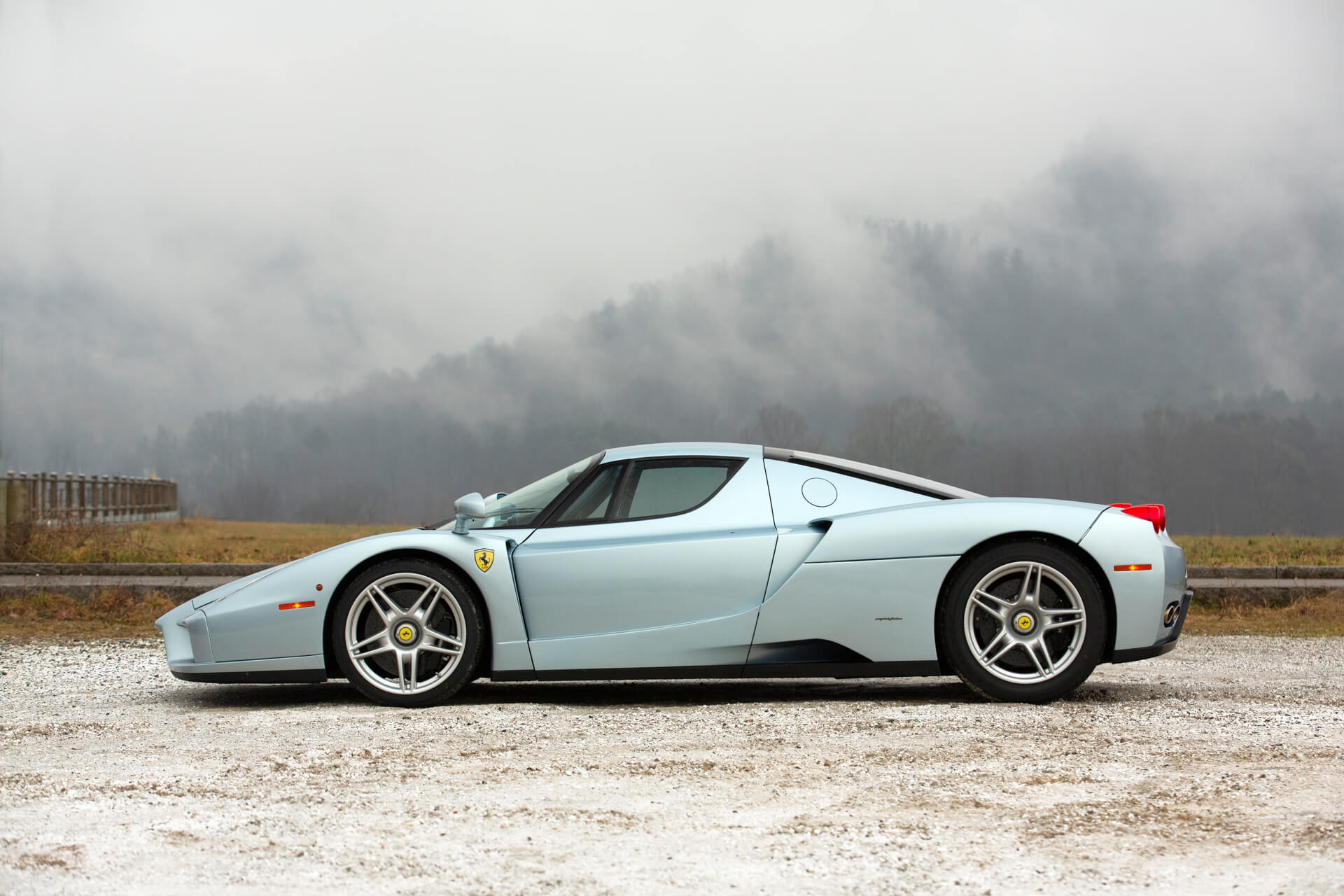 One Owner Grigio Alloy Ferrari Enzo Is Resplendent Looking For Second Owner Autoevolution