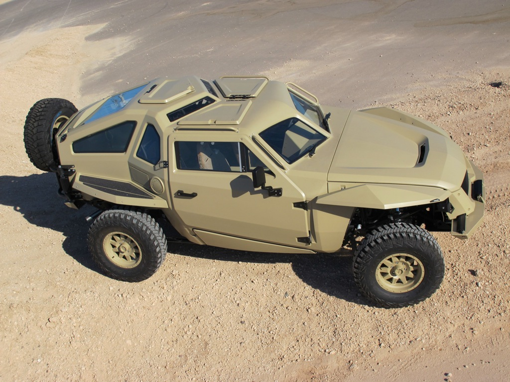 Online co created military vehicle concept becomes working prototype in 6 months autoevolution