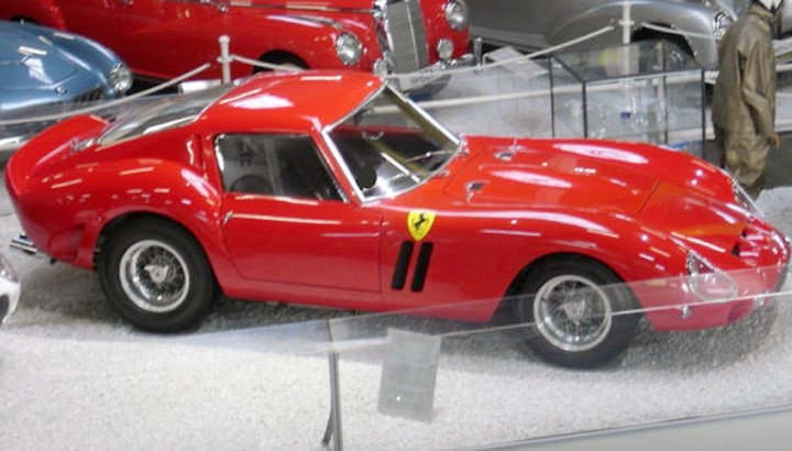 Online Ferrari 250 Gto Auction Is The Ultimate Spam
